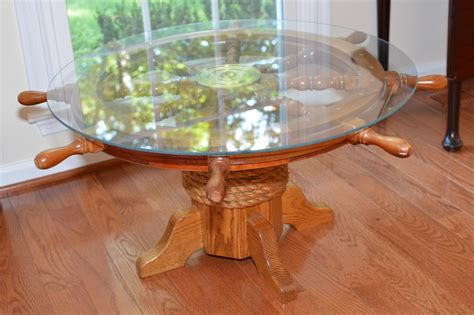 Wheel Coffee Table Ships Wheel Coffee Table Coffee Table Design Ideas