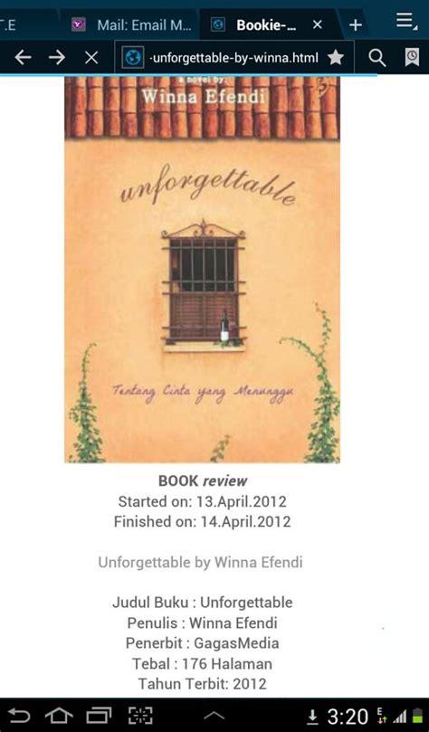 resensi film motivasi be a writer resensi buku unforgettable