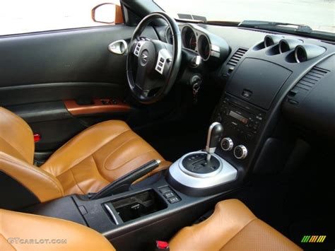 burnt orange leather interior 2006 nissan 350z touring coupe photo 41063587 gtcarlot com 2006 nissan 350z touring coupe burnt orange leather