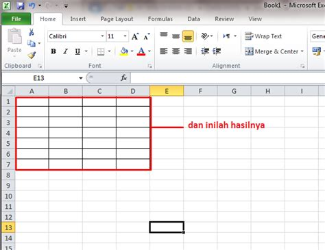 membuat background gambar di tabel html tips cara membuat tabel di microsoft excel 2010 panduan