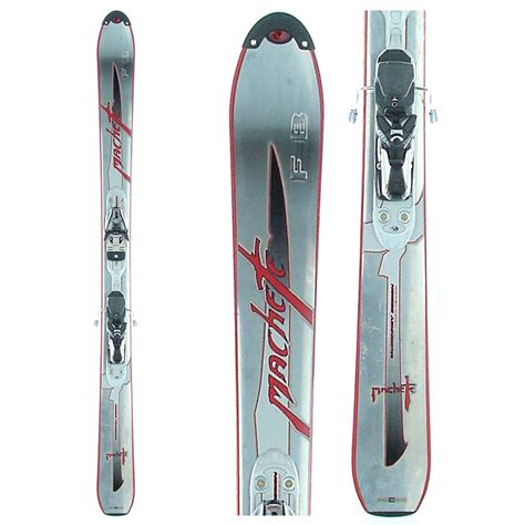 volant ski volant machete fb skis bindings used 2004 evo outlet