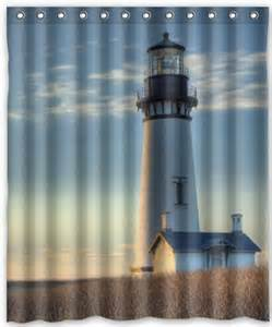 fashion custom autumn lighthouse waterproof polyester