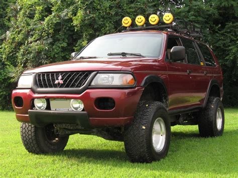 lifted mitsubishi 2001 mitsubishi montero sport lifted images