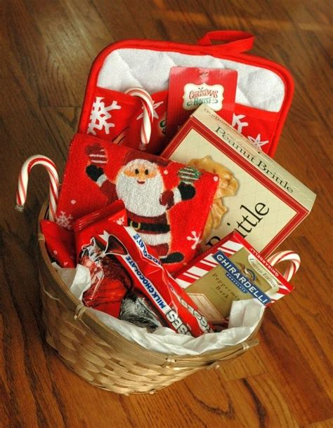 diy gift baskets holidays pinterest