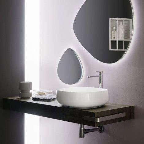 mensola per lavabo appoggio mensola in legno per lavabo da appoggio cm 110 diverse
