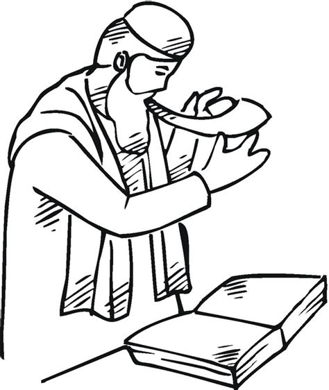 rosh hashanah coloring pages printable for kids family