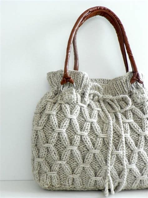 knit bags knitted bag sewing