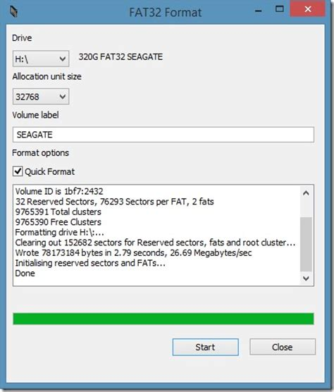format fat32 how to format external hard drive in fat32