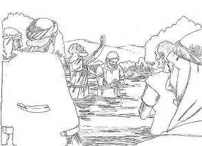 the baptist coloring page the baptist coloring pages