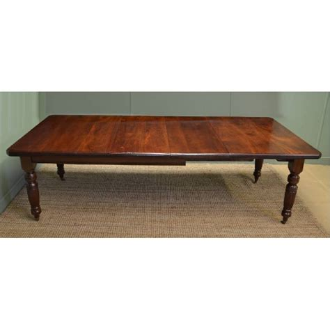antique walnut dining table large walnut antique wind out dining table