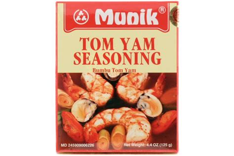 Bamboe Bumbu Tom Yum 54gr bumbu tom yam spicy lemongrass soup 180 gr by munik