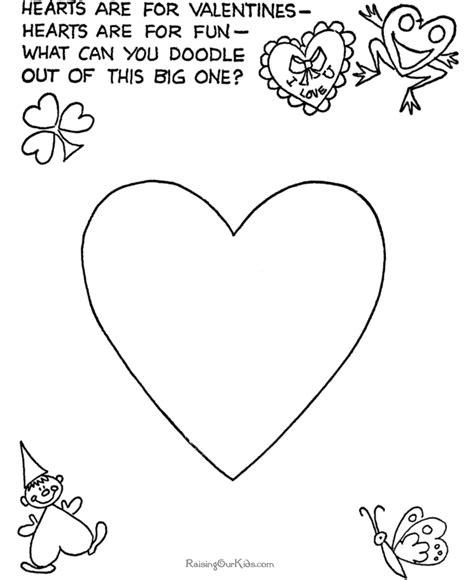 printable preschool valentine activities preschool valentine craft idea 005