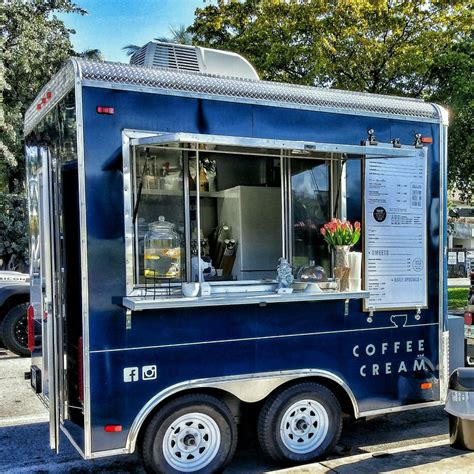 COFFEE & CREAM   Miami Food Trucks   Roaming Hunger