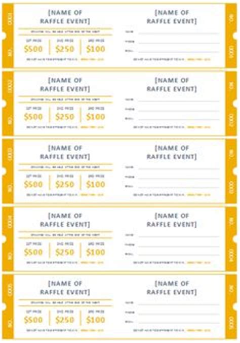 diy raffle ticket template 15 free raffle ticket templates follow these steps to
