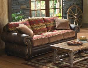 rustikales sofa rustic sofas and couches reclaimed furniture design ideas