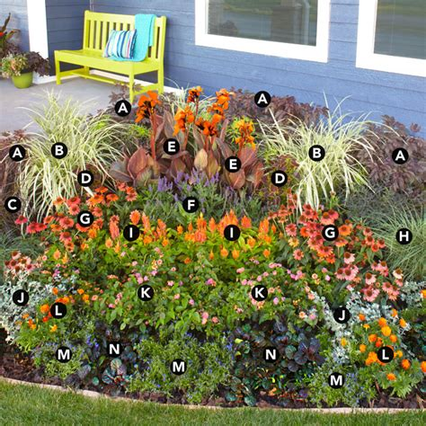 flower bed garden landscaping ideas a flower garden for corner spaces