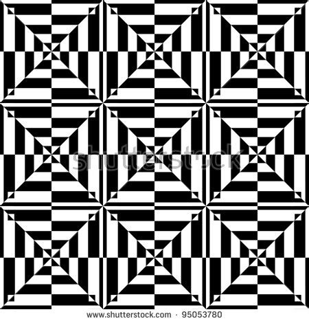 svg pattern tessellation op art design seamless geometric pattern with tessellated