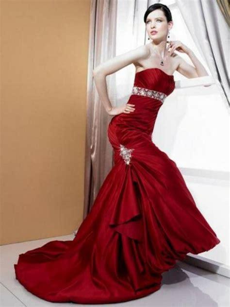 Rotes Hochzeitskleid by 20 Trendy Rote Kleider F 252 R Einen Unvergesslichen Look