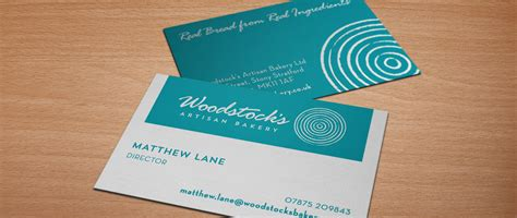 Business Card Templates For Freelancers by Woodstock S Artisan Bakery Branding