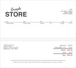 Sales Slip Template by 6 Free Sales Receipt Templates Excel Pdf Formats