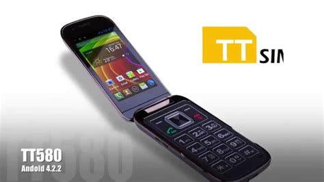 how to flip a on android ttsims tt580 android flip phone 3 2inch touchscreen android 4 2 flip folding design sim free