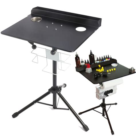 tattoo table adjustable work desk table compact stand