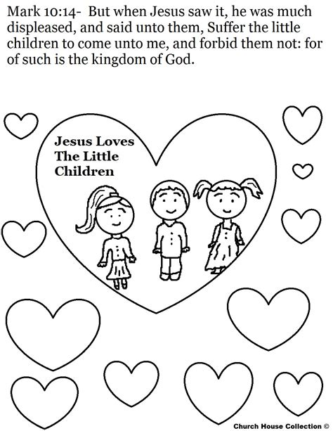 love coloring pages for sunday school jesus loves the little children craft yahoo image search