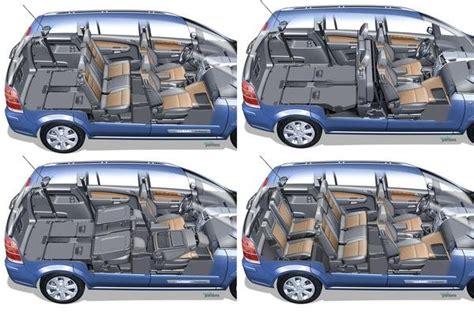 Opel Zafira Interior Dimensions by 2007 Opel Zafira Car Review Top Speed