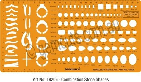 printable jewelry stencils jewellery design template combination rings stones shapes