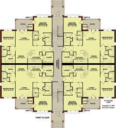 4 plex apartment floor plans 4 plex 3 with floor plan apartment house plan