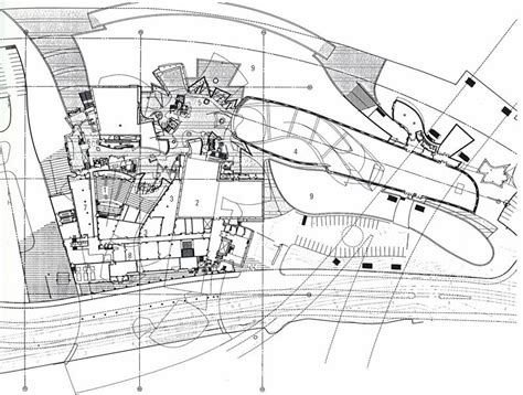 guggenheim museum bilbao floor plan guggenheim bilbao data photos plans wikiarquitectura