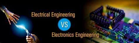 electrical engineering  electronics engineering