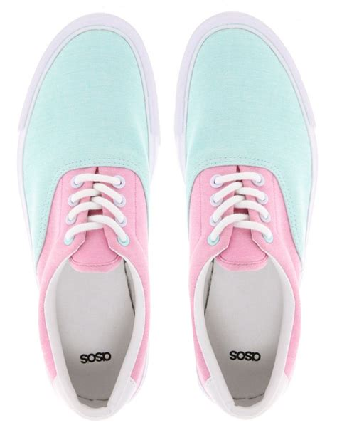 pastel sneakers pastel coloured shoes for 2018 fashiongum