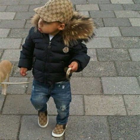 Win A Doggie And Baby Bag Of Swag by Gucci Baby Boy Hat Shoes Swagg Cool Kid Fashion Baby Swag