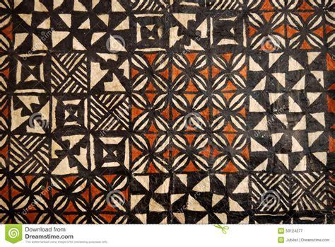 fijian pattern meaning pacific islands tapa cloth geometric designs stock image