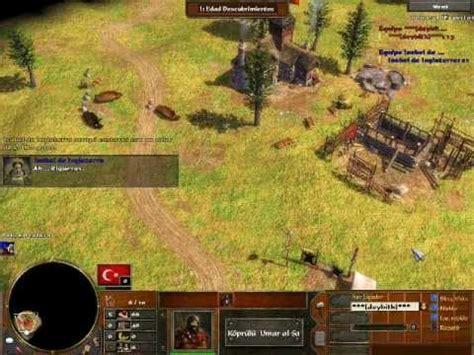 rush otomano age of empires 3 age of empires 3 rush otomano vs pc experto youtube