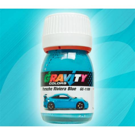 porsche riviera blue paint code gravity colors