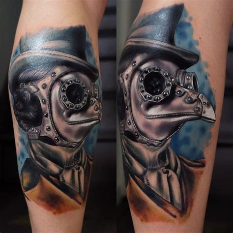 52 steampunk tattoo designs you have to like