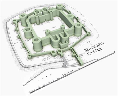 Beaumaris Castle Floor Plan | beaumaris lost in castles