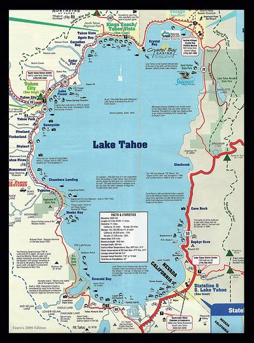 lake tahoe map lake tahoe map flickr photo