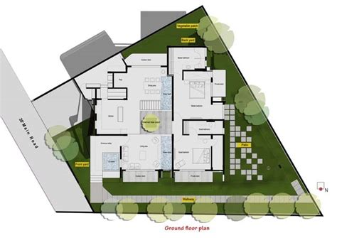courtyard house designs sows modern courtyard home designs courtyard house by the purple ink studio