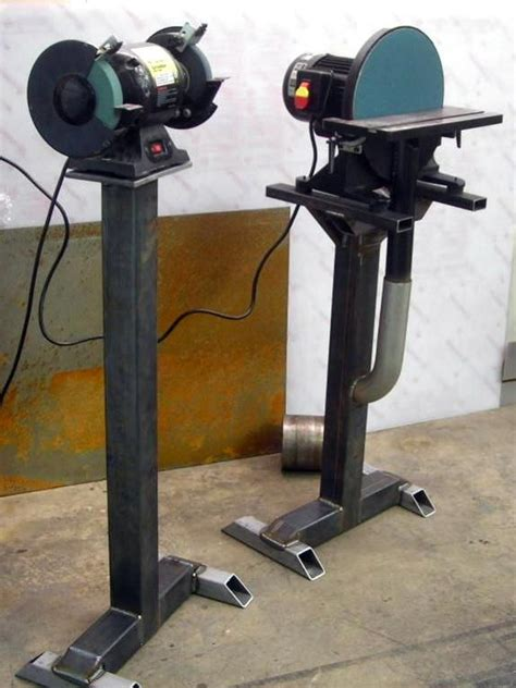 how to make a bench grinder stand check the grinder exhaust vise and grinder stands