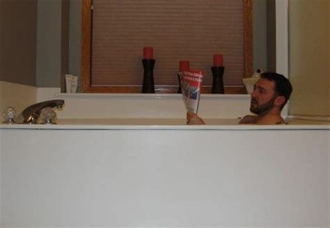 person in bathtub is your water heater large enough for your bathtub