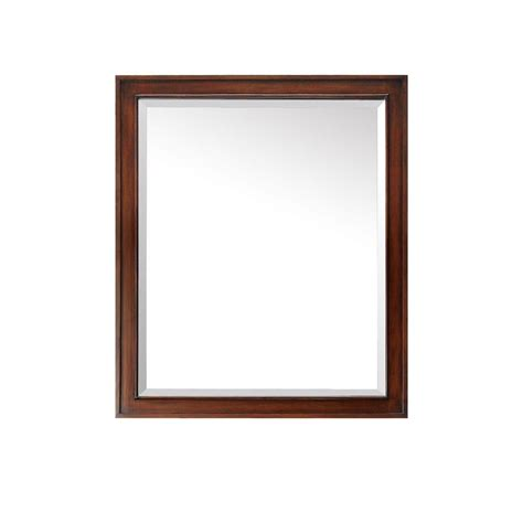 30 inch mirror avanity brentwood 30 inch mirror in new walnut finish