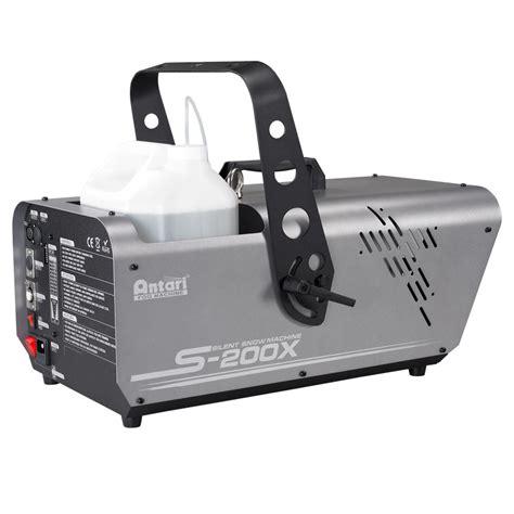 Hazer Machine 900watt Dj Power american dj s 200x 900 watt area effect silent snow machine with remote and safety harness