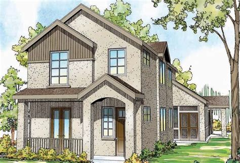 narrow lot 2 story house plans narrow lot house plan studio design gallery best