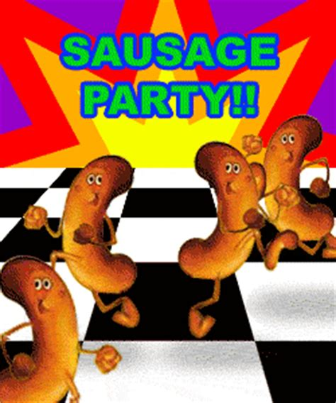Sausage Party Meme - animated gifs sausage party threadbombing