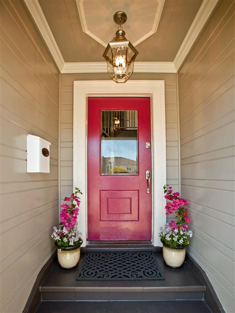 Front Door Makeover Ideas Curb Appeal Makeovers 15 Before And After Photos Landscaping Ideas And Hardscape Design Hgtv