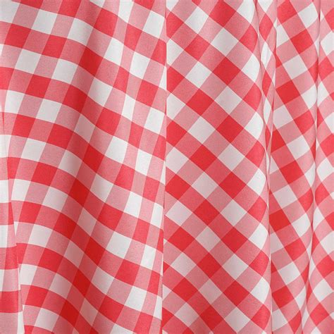 120 quot checkered gingham polyester round tablecloth wedding party linens wholesale ebay