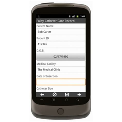 Jual Formula Mobile Care by Foley Catheter Care Record Form Mobile App Iphone